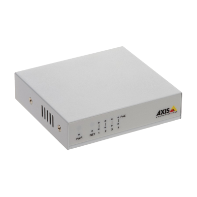 AXIS D8004 UNMANAGED POE SWITCH US