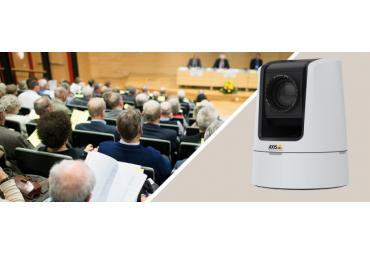 Axis Communications представляет PTZ-камеру AXIS V5925